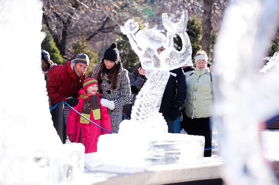 Ottawa, Canada: Exploring the international ice sculpture competition at Winterlude.