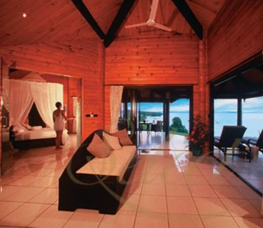 Taveuni Island Resort & Spa: Living Area