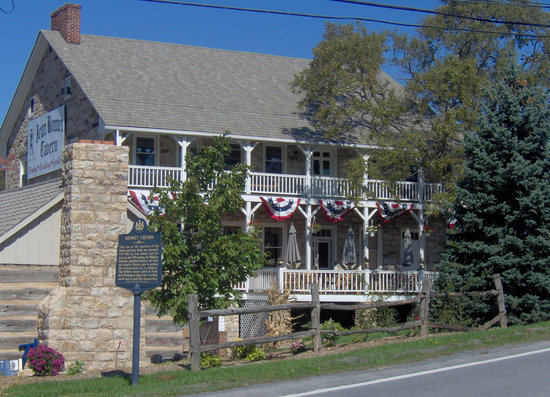 Jean Bonnet Tavern B &amp; B: 250 year old restaurant, tavern and bed &amp; breakfast