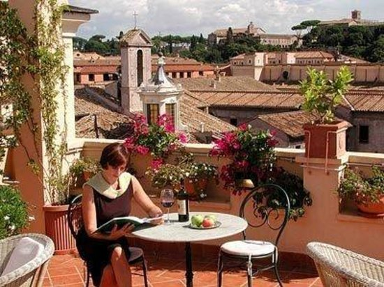 Hotel San Francesco: Roof Terrace