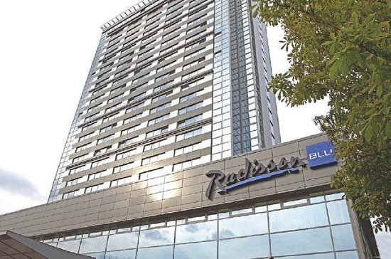 Radisson Blu Hotel Latvija: Exterior