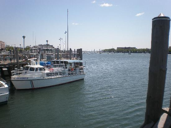 The bay from il fornetto restaurant picture of for Brooklyn fishing boat