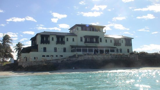Mansion Xanadu: view from the sea