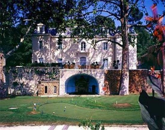 Chateau Residence de Bionne: Front and Golf of the Castle