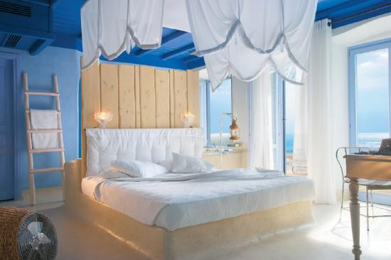 Sample Endless Blu Villa Waterfrontbedroom  Fotografia de Grecotel Mykonos Blu Hotel, Psarou