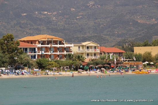 Vasiliki, Hellas: View from the sea