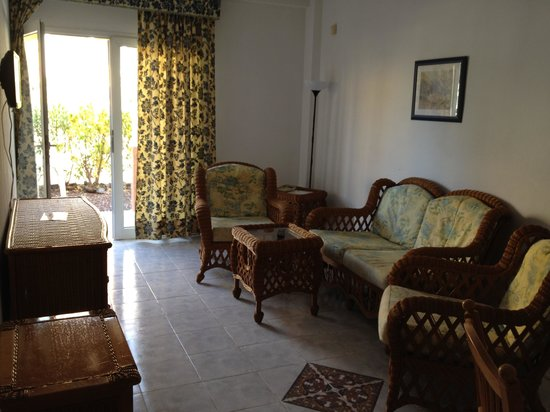 Compostela Beach Golf Club: Sitting room