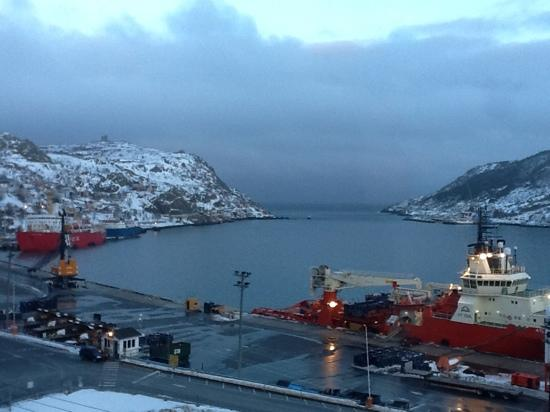View Of The Harbour And Signal Hill From The Room