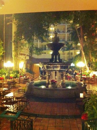 Embassy Suites Hotel McAllen: Entrada hotel.