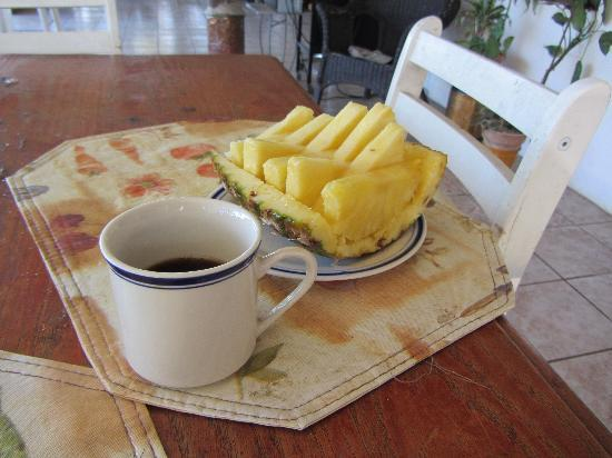 Alajuela Tropical Hostel: Light breakfast