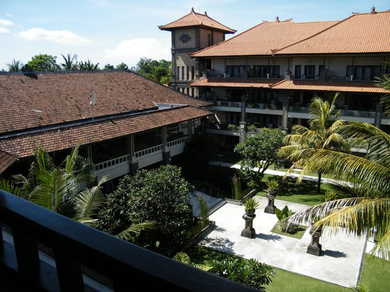 Peninsula Beach Resort Tanjung Benoa: The resort...view from top floor