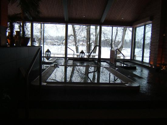 Heinola, Finland: view from jacuzzi