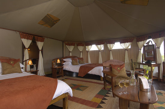 Tipilikwani Masai Mara Camp: Twin Bedroom
