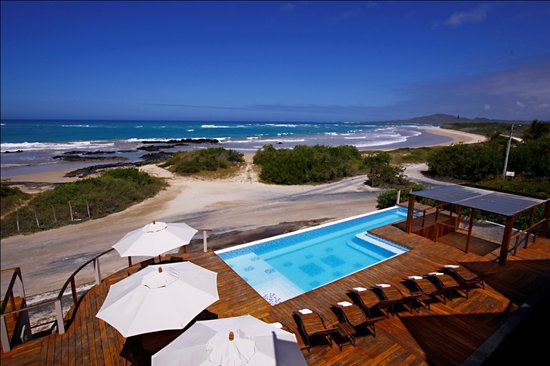Puerto Villamil, Ecuador: Endless Pool, Endless Beach...just for you
