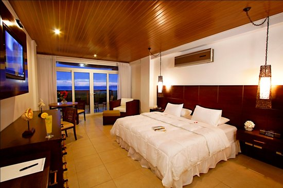 Puerto Villamil, Ecuador: All rooms with ocean or volacano view