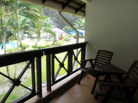 Felda Residence Sahabat: verandah outside the room