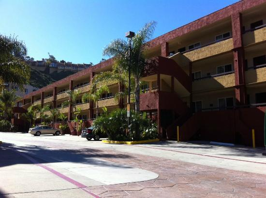 La Quinta Inn San Diego Mission Valley: Plenty of free parking