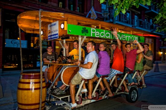 Milwaukee Pedal Tavern