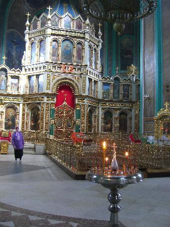 Rostov-on-Don, Russia: Rostov-na-Donu, inside the church