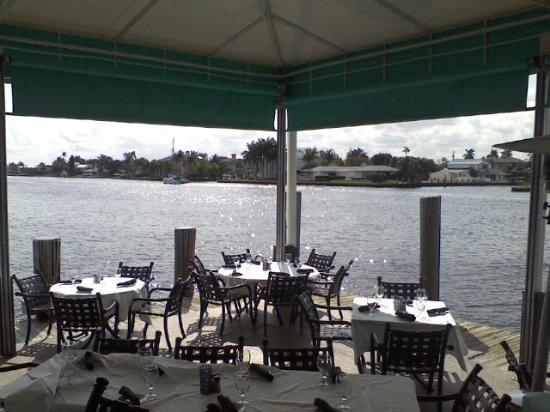Chart House Ft Lauderdale Outside Dining 2 Upper Deck Picture Of Restaurant Fort