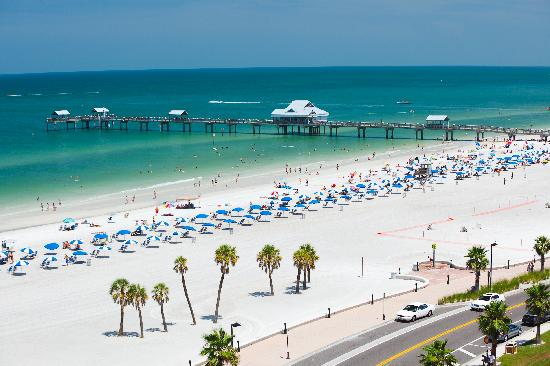 Pier 60 at Clearwater Beach is a favorite spot for watching sunsets!