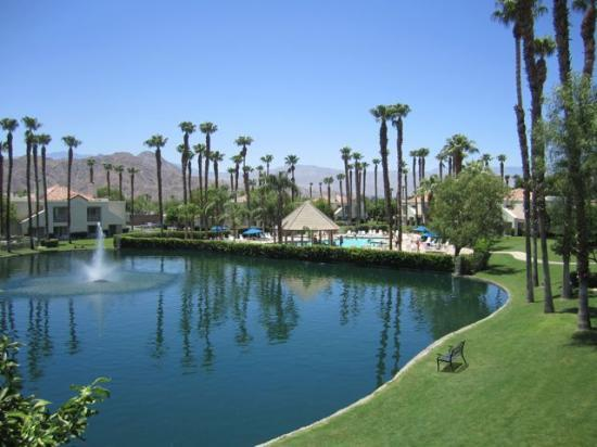 Desert Breezes Resort: View from our unit