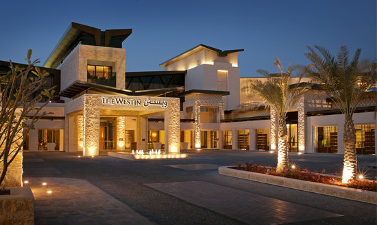 The Westin Abu Dhabi Golf Resort & Spa: Main Entrance