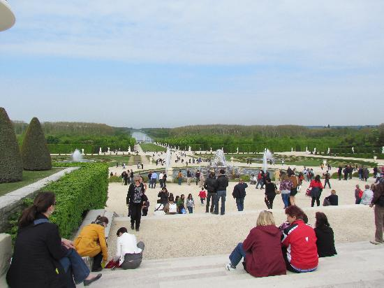 The Gardens And Fountains Just Keep Going Picture Of Chateau De Versailles Versailles