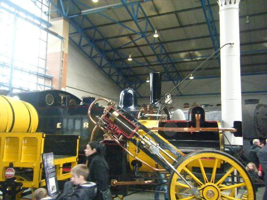Harry potter train - picture of national railway museum, york