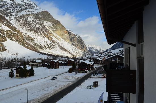 Matterhorn Golf Hotel: View from Room 16 Balcony #2