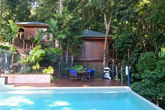 Cairns Reef 'n Rainforest B & B: Pavillions in the Rainforest