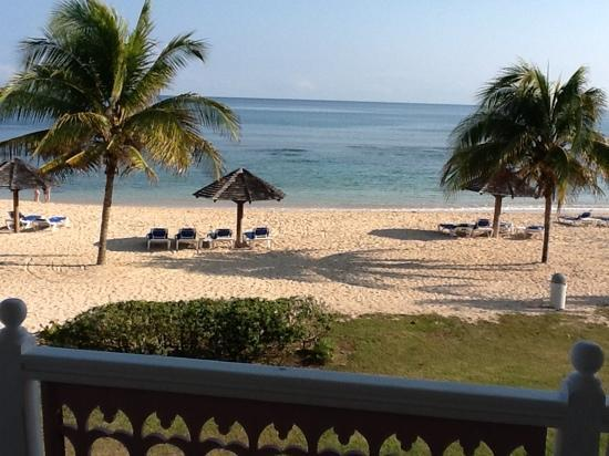 Braco Village Hotel & Spa: view from beachfront room
