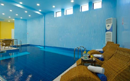 Spilia Village Hotel: Indoor Swimming Pool