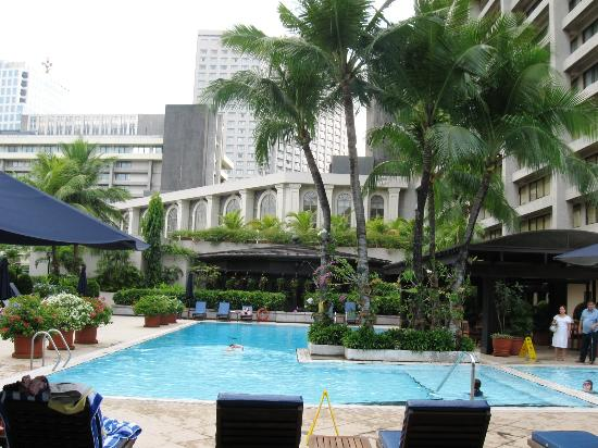 The Pool Area Picture Of The Peninsula Manila Makati Tripadvisor