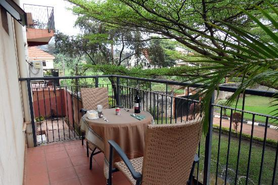 Speke Hotel: Balcony of Speke Apartments Kitante