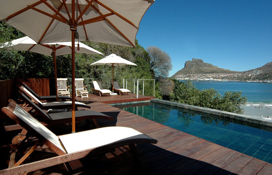 Chapmans Peak Beach Hotel: Hotel Pool & Views