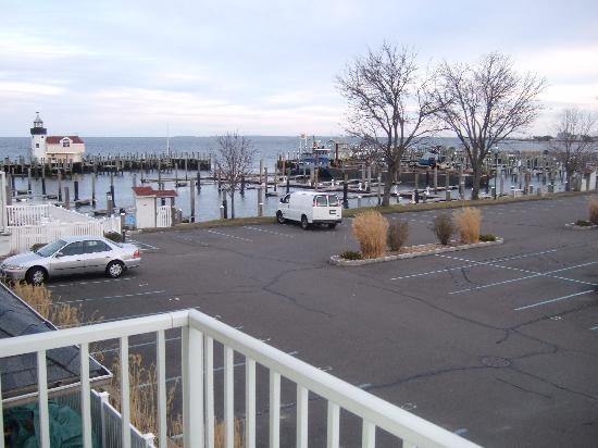 ‪‪Saybrook Point Inn & Spa‬: View from the room‬