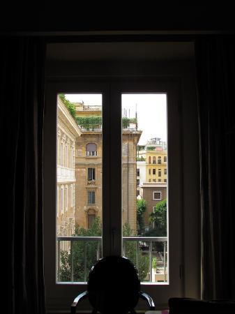 Casa Montani: view from one of the windows