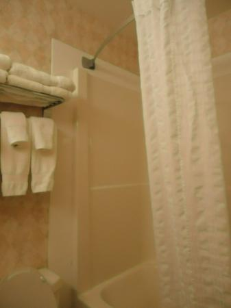 Super 8 Drumheller: bathroom