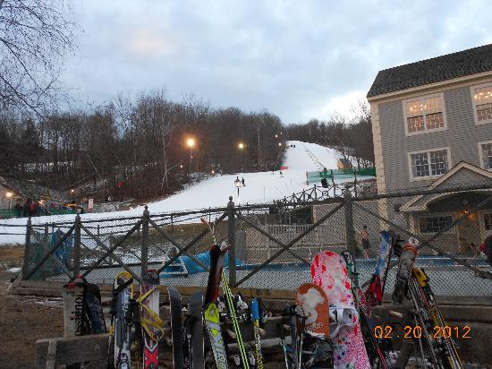Country Inn at Jiminy Peak: view from our room