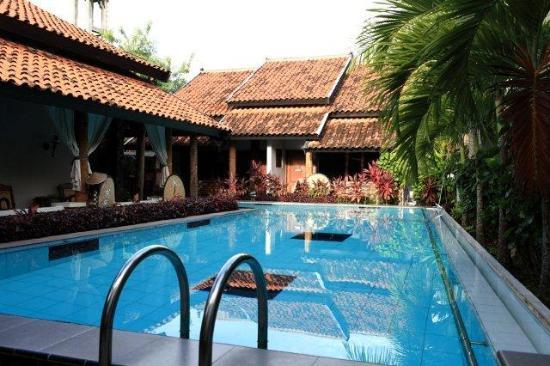 Rumah Palagan Yogyakarta: The Swimming Pool, clean and well maintained