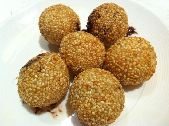 Chocolate Sesame Balls Recipes — Dishmaps