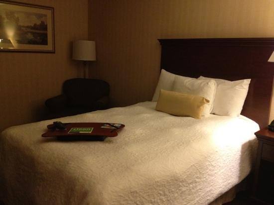 Hampton Inn -- Rocky Mount: bed