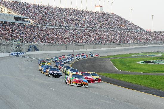 Cincinnati, OH: NASCAR at Kentucky Speedway