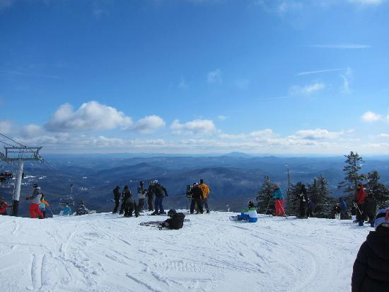 Greenbrier Inn: View from the top!  President's day weekend - Killington