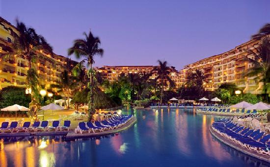 Velas Vallarta: Panoramic Night View