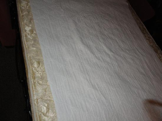 Pinestead Reef Resort: Mattress pad for pull-out was too small
