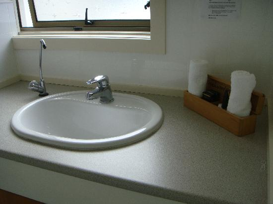 Touchwood Motor Lodge: Wash Basin