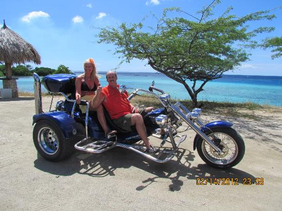 ‪‪Noord‬, ‪Aruba‬: Our trike in Aruba‬