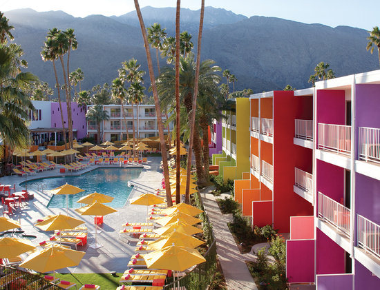 The Saguaro Palm Springs, a Joie de Vivre Hotel: Saguaro Exterior